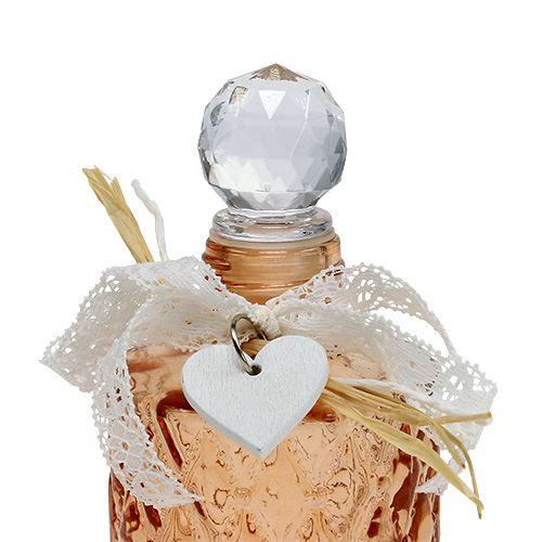 Glasflasche Mit Stöpsel : glasflasche mit st psel 6cm h14cm braun 1st preiswert ~ Watch28wear.com Haus und Dekorationen