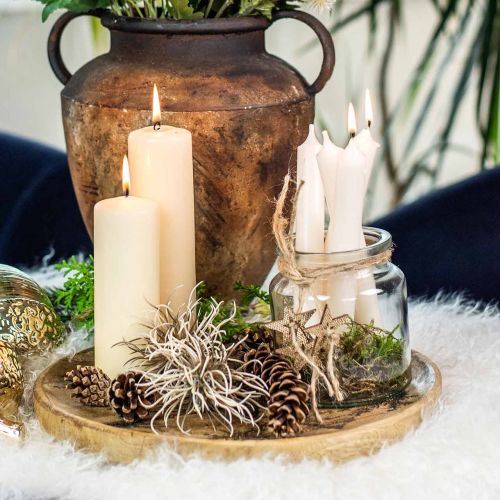 Glasgefäß zum Befüllen, Blumenvase, Tischdeko, Windlicht aus Glas 2St