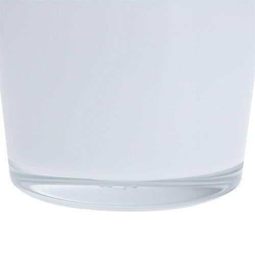Blumentopf aus glas wei 10cm h8 5cm preiswert online kaufen for Blumentopf glas