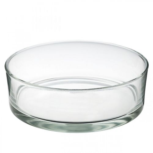 Glasschale Ø25cm H8cm