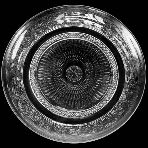 Glasteller Antik Ø29cm H2,5cm 2St