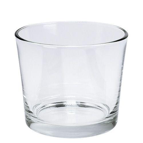 Glastopf Ø12cm klar 6St