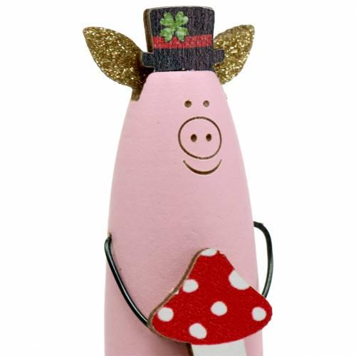 Dekostecker Glücksschwein 6,5cm 8St