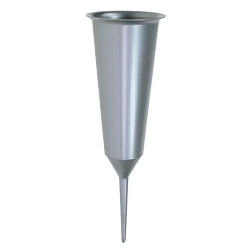 Grabvase Silber 33cm