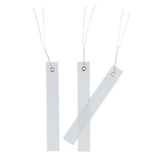 Hänge-Etiketten Weiß 20mm x 140mm 250St
