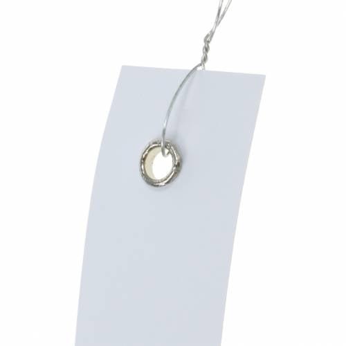 Hänge-Etiketten Weiß 20mm x 80mm 250St