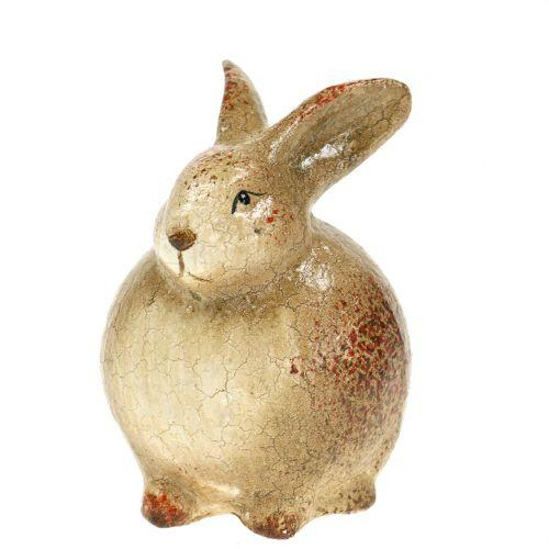 Deko Hase Braun Keramik 5cm x 7cm
