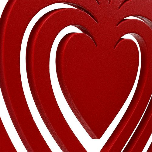 Herz Rot aus Foam 40cm