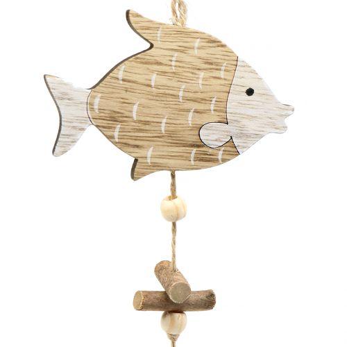 Maritime Hänger mit Fischen 36cm