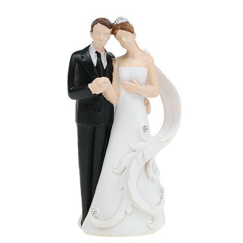 Hochzeitfigur Brautpaar 10,5cm