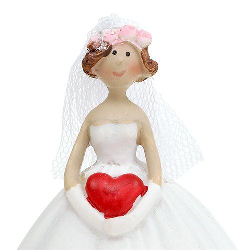 Hochzeitsfigur Brautpaar 13cm 1 Paar
