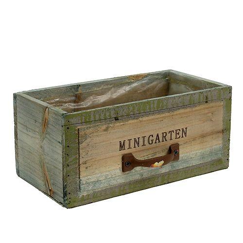 Holz Schublade Minigarten 22cm X 115cm H10cm Preiswert Online Kaufen