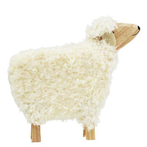 Deko Schaf Aus Holz Und Wolle ~ deko schaf aus holz und wolle ca 30cm außergewöhnliches deko schaf