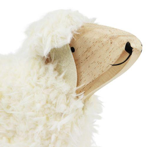 Deko Schaf Aus Holz Und Wolle ~ Deko Schaf aus Holz und Wolle ca 30cm preiswert online kaufen