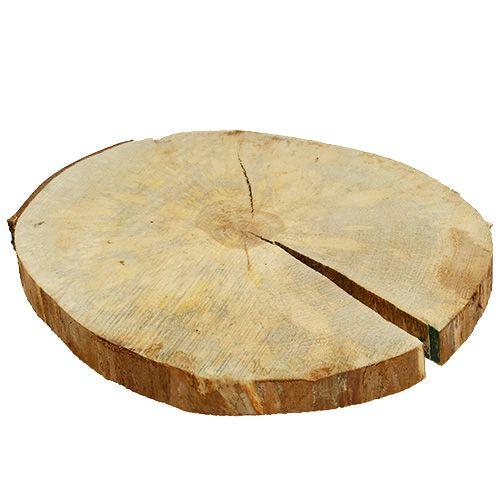 Holzscheibe Natur 25cm 30cm