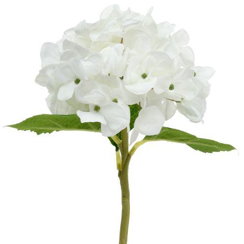 Deko-Hortensie Weiß 36cm