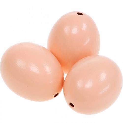 Hühnereier Hellrosa Ausgeblasene Eier Osterdeko 12St