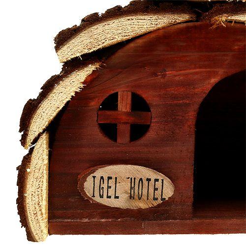 Igelhotel Natur 24,5cm x 15cm x 17cm
