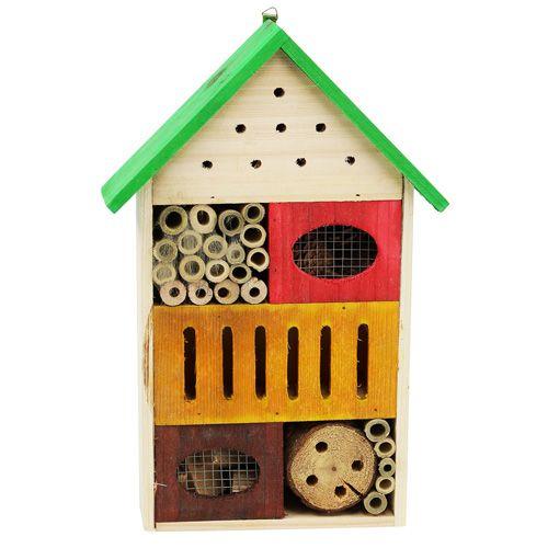Insektenhotel Bunt 25 5cm X 9cm X 38 5cm Preiswert Online Kaufen