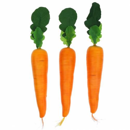 Karotte künstlich 18cm 3St