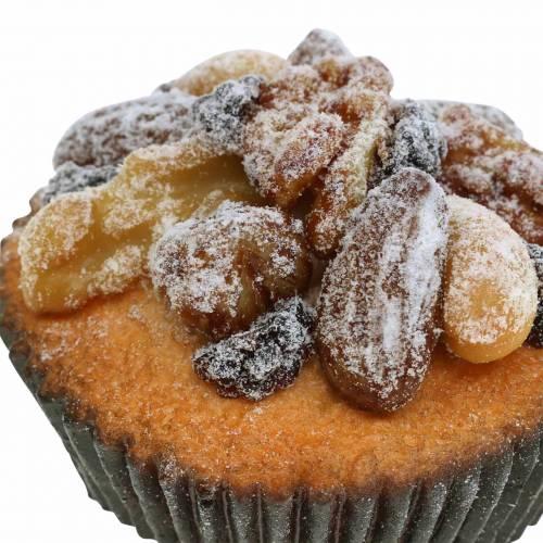 Muffins mit Nüssen künstlich 7cm 3St