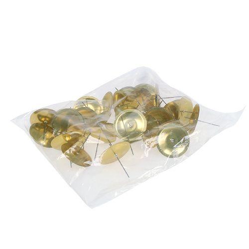 kerzenhalter mit dorn gold 5cm 36st preiswert online kaufen. Black Bedroom Furniture Sets. Home Design Ideas