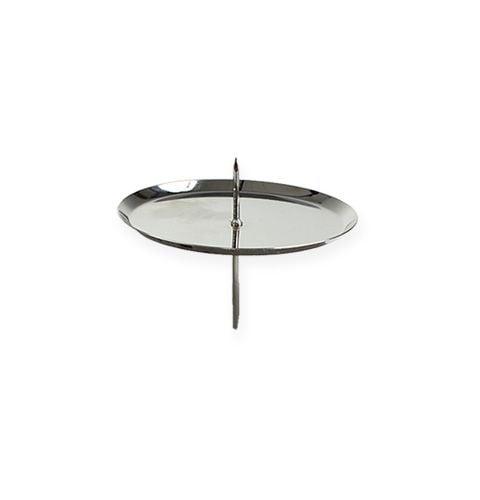 Kerzenhalter Silber Ø6cm 4St