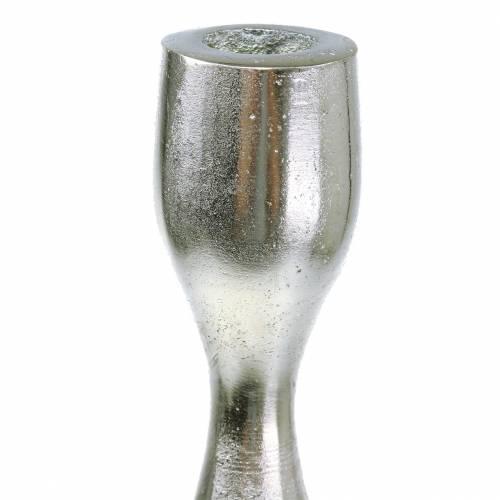 Kerzenständer Antik Silber H31cm
