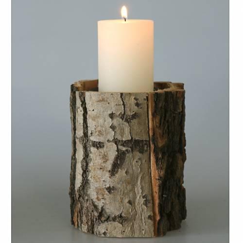 Kerzenhalter Holz Ø13cm H16cm