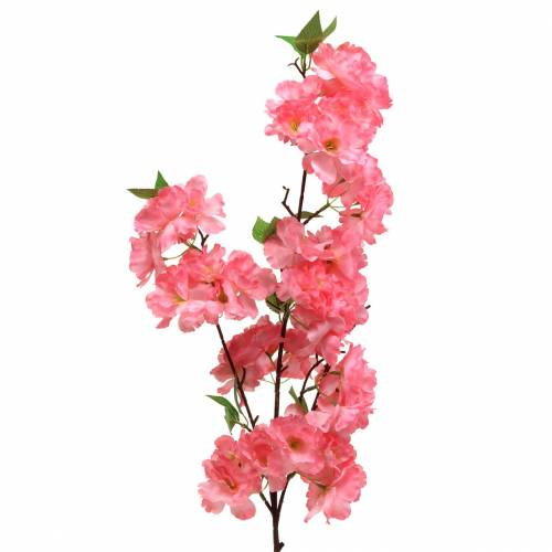 Kirschblütenzweig künstlich Pink 103cm