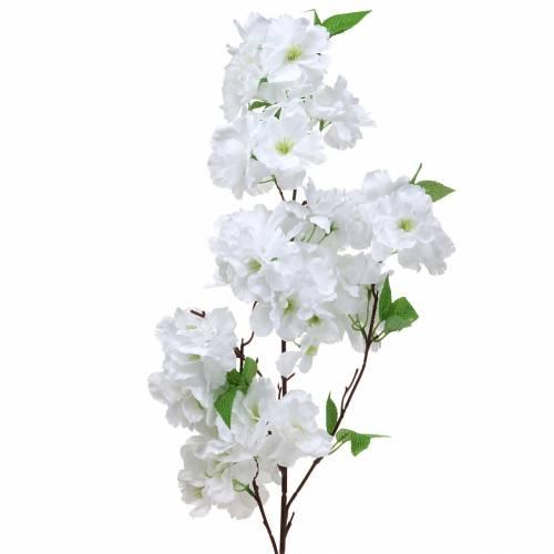 Kirschblütenzweig Weiß künstlich 103 cm