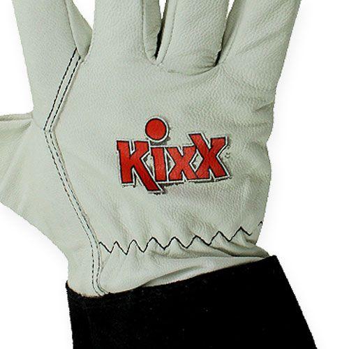 kixx rosenhandschuhe gr 9 schwarz wei preiswert online. Black Bedroom Furniture Sets. Home Design Ideas