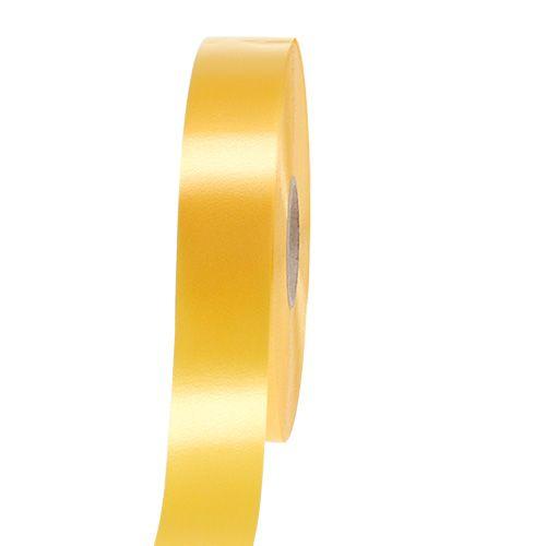 Kräuselband 30mm 100m Gelb