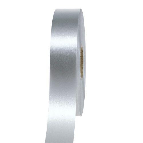 Kräuselband 30mm 100m Silber
