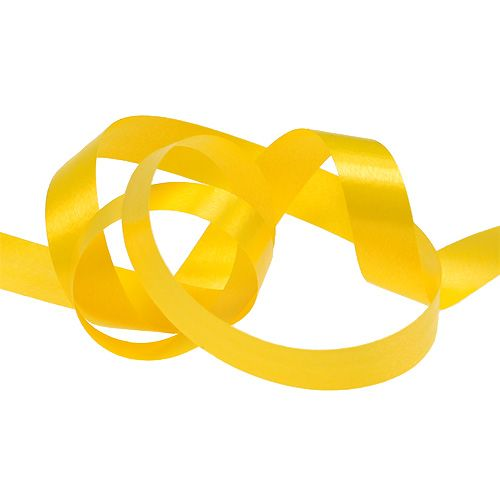 Kräuselband Gelb 10mm 250m