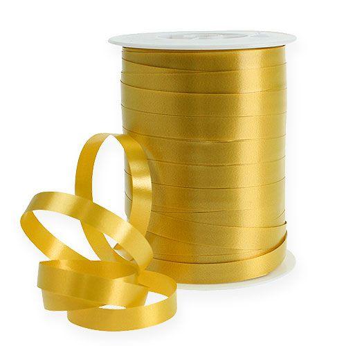 Kräuselband Ringelband gold 10mm 250m