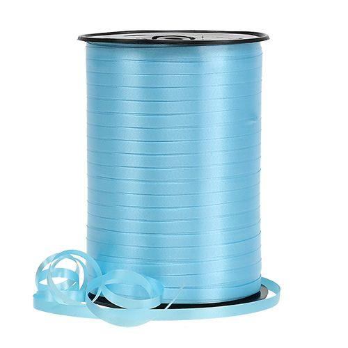 Kräuselband hellblau 4,8mm 500m