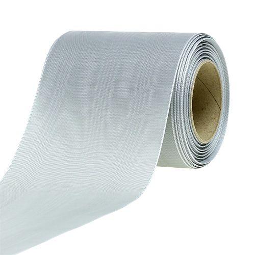 Kranzband Silber 100mm 25m