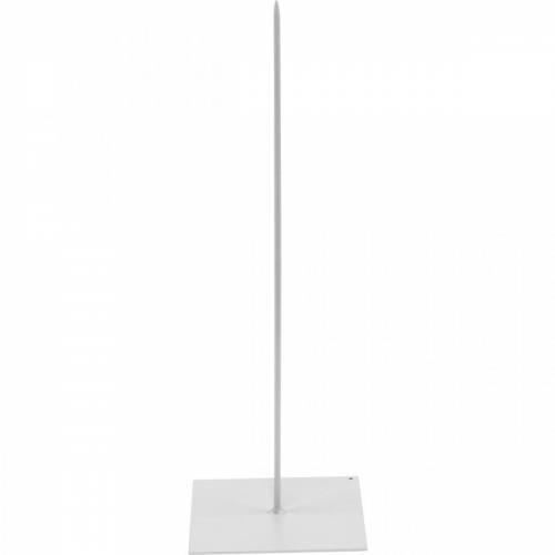 Kranzhalter Weiß Metall Kranzständer H30cm