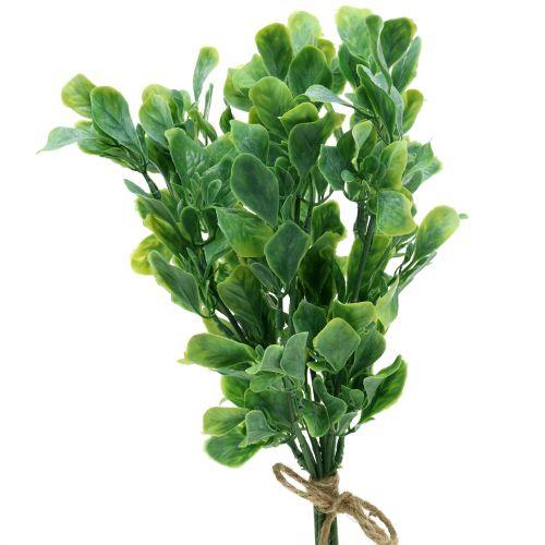 Basilikum im Bund künstlich Grün 36cm 6St