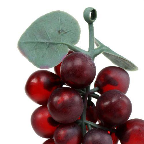 Künstliche Weintrauben Bordeaux 10cm