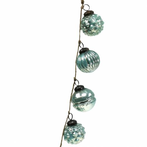 Weihnachtsdeko Girlande Christbaumkugeln 120cm