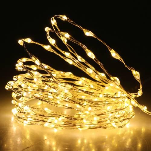 Lichterkette LED-Lichterdraht Warmweiß 189LED 3m