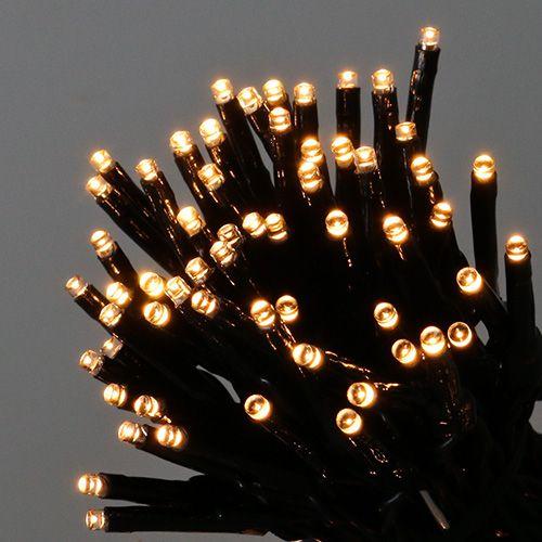 LED Reislichterkette 80er 6m für Außen warmweiß