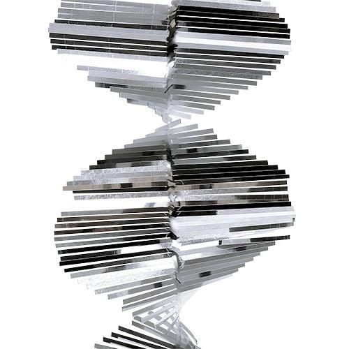 Lametta spiralgirlande 1 5m silber preiswert online kaufen - Lametta kaufen ...