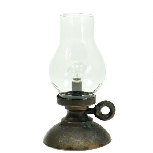 Deko Lampe Vintage  Ø10cm H20cm