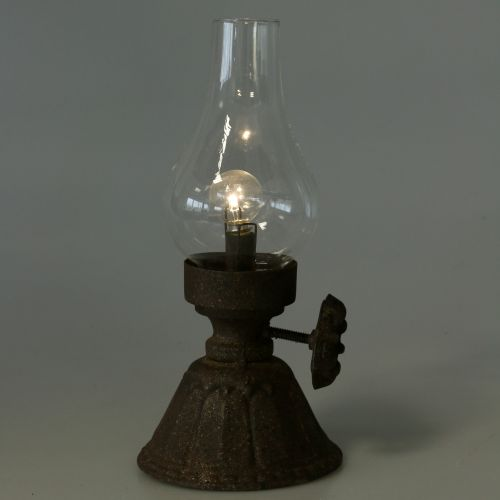 Deko Lampe Antik Ø11,5cm H25cm
