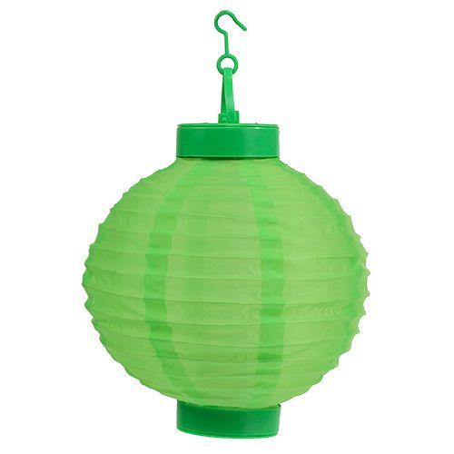 Lampion LED mit Solar 20cm Grün