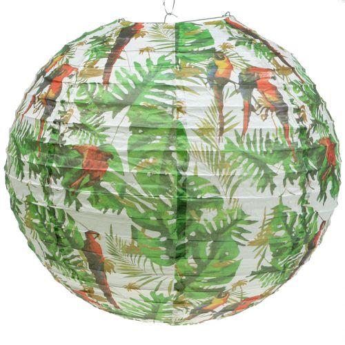 Lampion aus Papier mit Dschungelmotiv Ø50cm