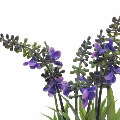 Lavendel Bund mit Gräsern künstlich 32cm
